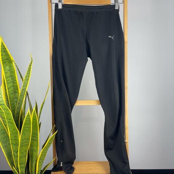 Puma Leg Zip Running Pants - Size XS / 6